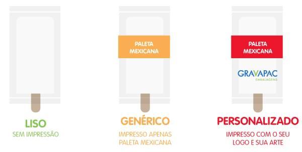 Embalagem Paleta Mexicana Picole