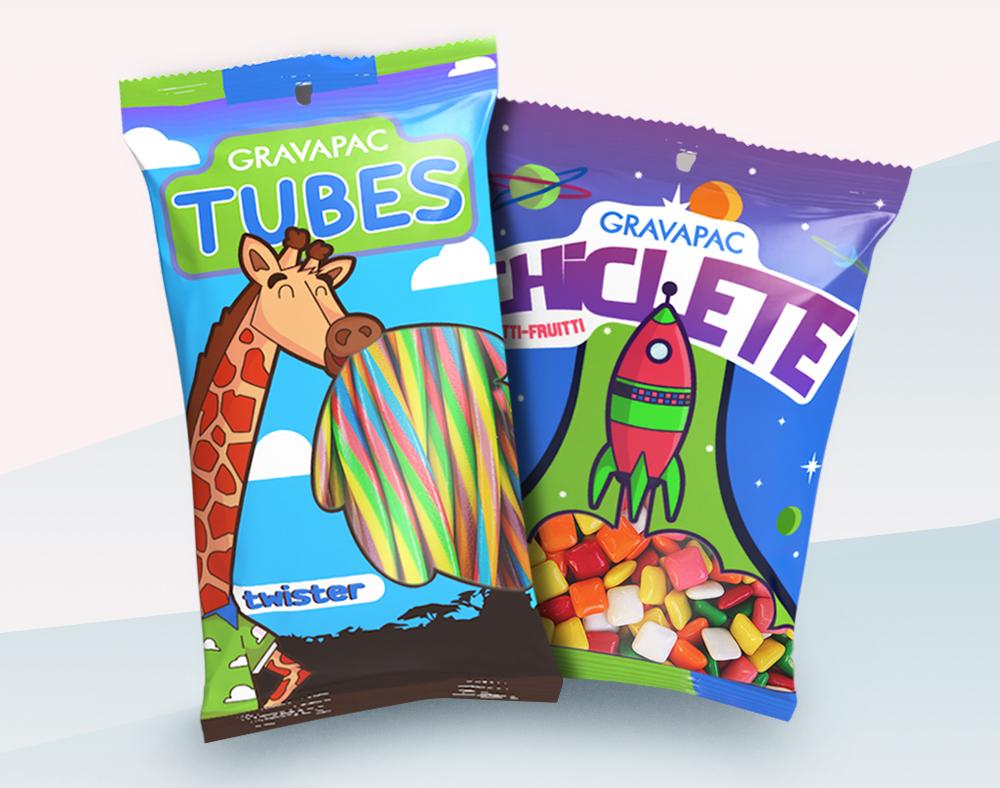Embalagem doces